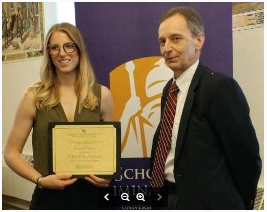 lt. john f. finn scholarship award