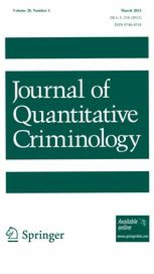 journal of quantitative criminology John F. Finn