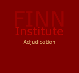 adjudication cases, john f. finn institute